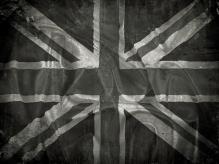 Union Jack B&W